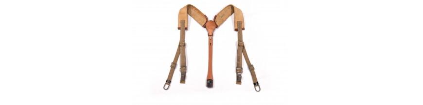 Canvas Y-straps